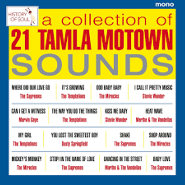 Various ‎– A Collection Of 21 Tamla Motown Sounds - Tamla Motown Live in Europe 1965 Vinyl