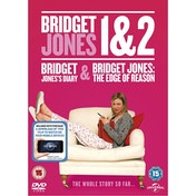 Bridget Jones 1 & 2 Double DVD   UV Copy