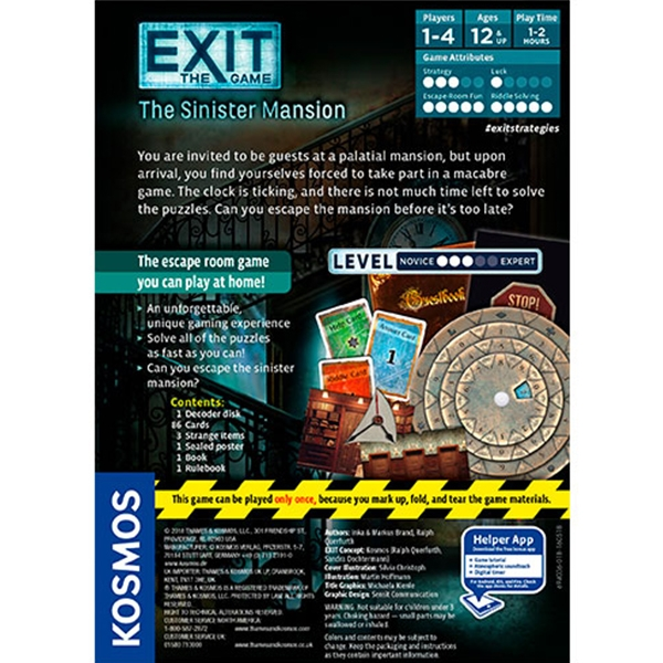 Exit: The Sinister Mansion Board Game - Image 3