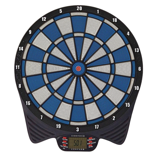 Unicorn MK 2 -Electronic LCD Soft Tip Dartboard inc 2 Sets of Darts