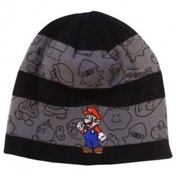 Nintendo Striped Mario Beanie Hat