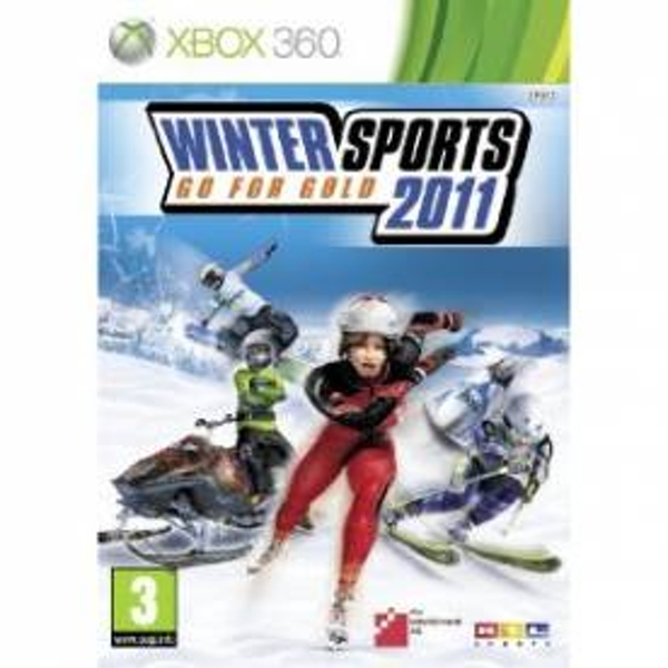Winter Sports Go for Gold 2011 Game Xbox 360