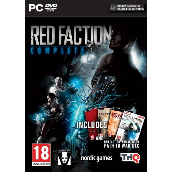 Red Faction Collection (Red Faction, Guerrilla & Armageddon) PC Game - Image 1
