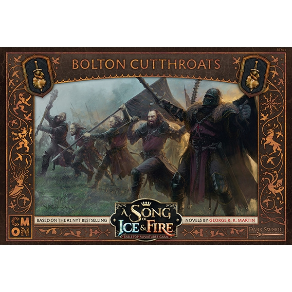 A Song of Ice & Fire: Tabletop Miniatures Game - Bolton Cutthroats Expansion Board Game