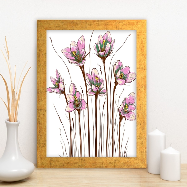AC1407705432 Multicolor Decorative Framed MDF Painting
