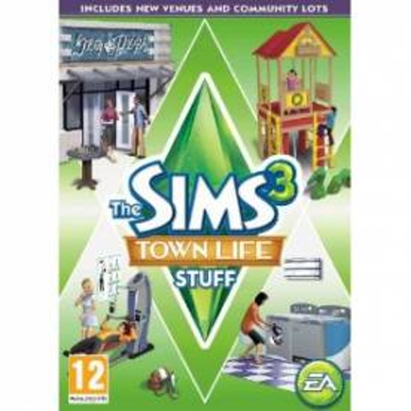 The Sims 3 Town Life Stuff Game PC