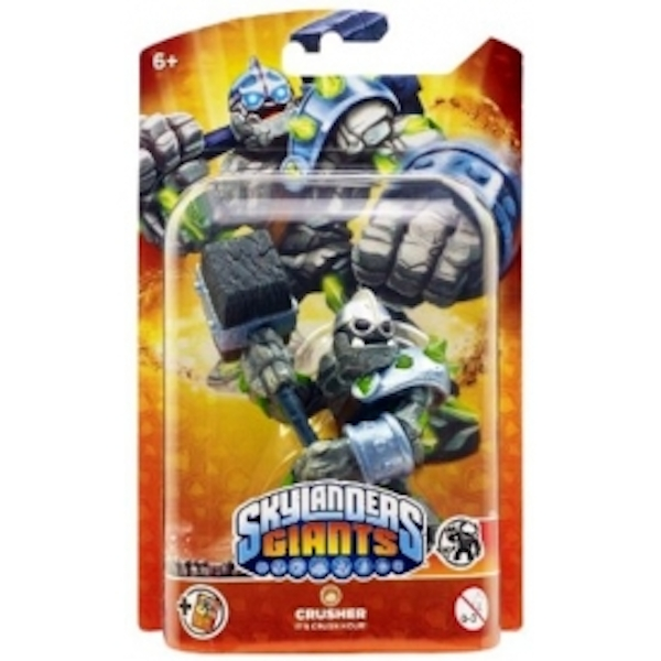 Crusher (Skylanders Giants) Earth Character Figure - Image 4