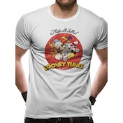 Looney Tunes - Group Vintage Men's XX-Large T-Shirt - White