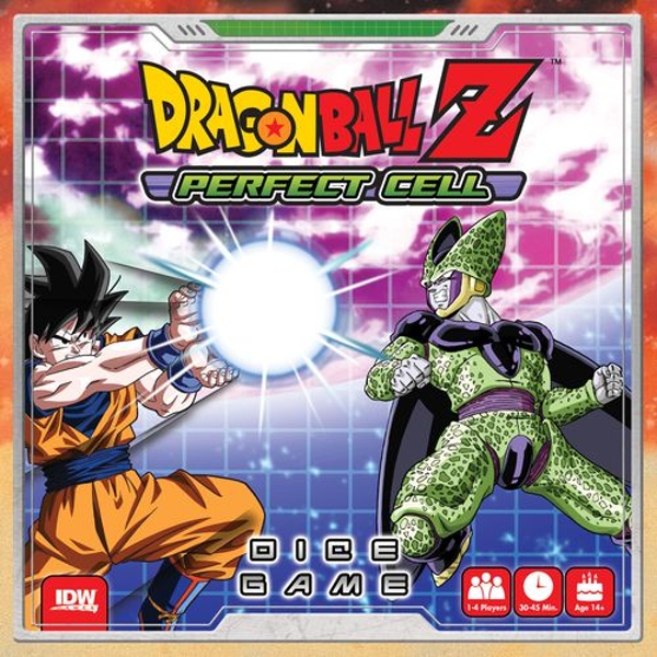 Dragonball Z Perfect Cell Dice Board Game