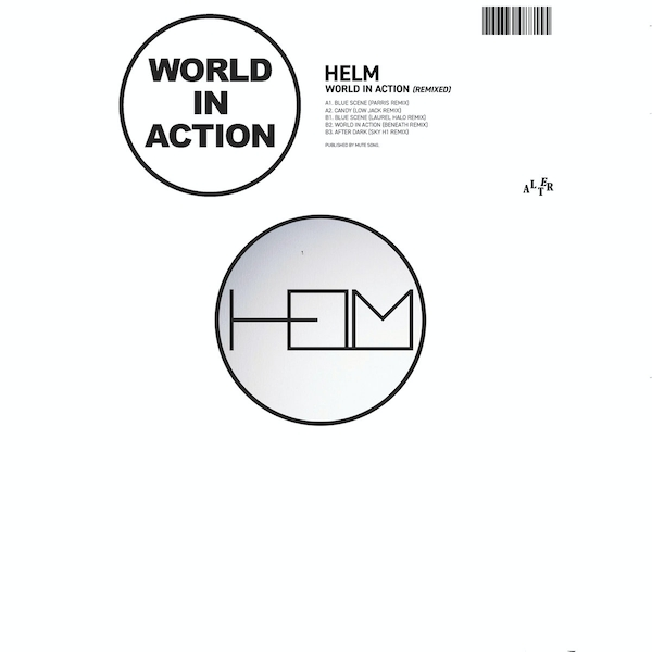 Helm ‎– World In Action Remixed Vinyl