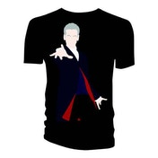 Doctor Who - 12th Doctor Galaxy Coat Lining Women's X-Large T-Shirt - Black