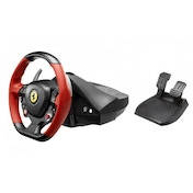 Thrustmaster Ferrari 458 Spider Racing Wheel with The Crew Xbox One Game