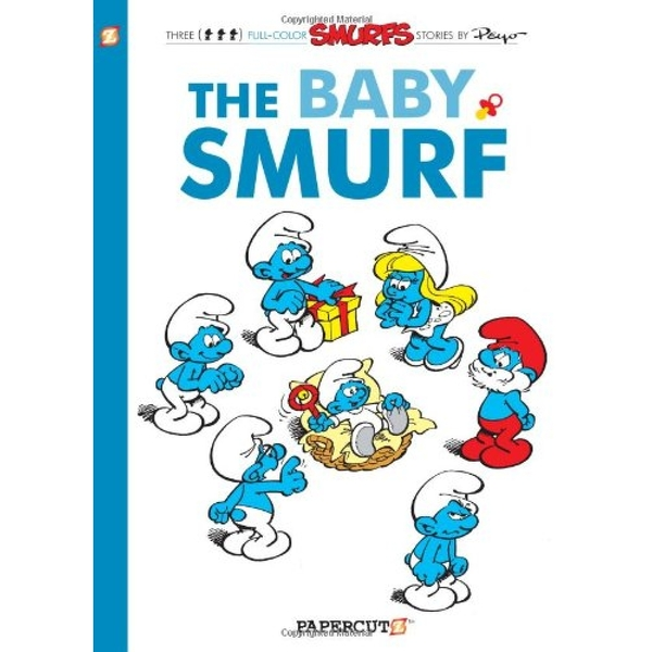 The Baby Smurf (Smurfs Graphic Novels Series 14) Hardcover