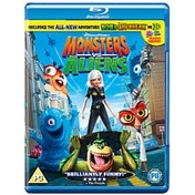 Monsters Vs Aliens Blu-ray