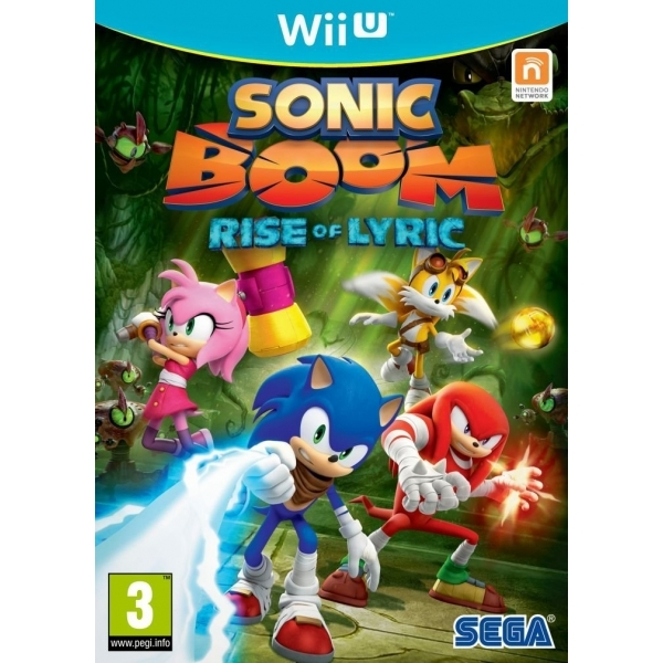 Sonic Boom Rise Of Lyric Wii U Game - Image 1