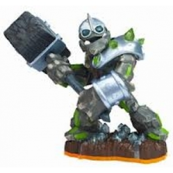 Crusher (Skylanders Giants) Earth Character Figure (Ex-Display) Used - Like New