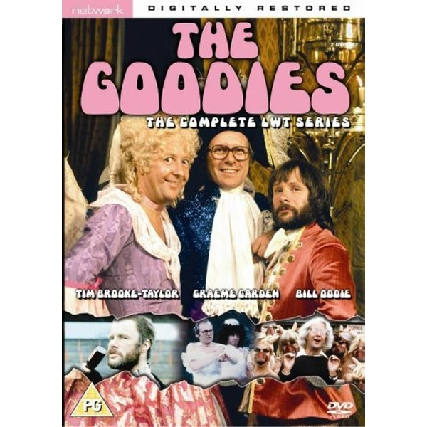 The Goodies - The Complete LWT Series DVD 2-Disc Set