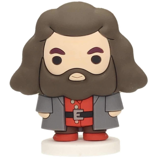 Harry Potter Hagrid Rubber Mini Figure