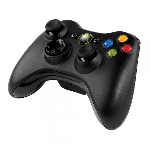 Microsoft Xbox 360 Wireless Controller For Windows Black (No Packaging) PC