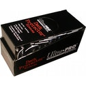Ultra Pro Standard Size 50 Deck Protectors Box Black 12 Packs