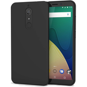 Wiko View XL TPU Silicone Gel - Matte Black