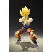 Super Saiyan Son Goku Super Warrior Awakening Version (Dragon Ball Z) Bandai Tamashii Nations Figuarts Figure