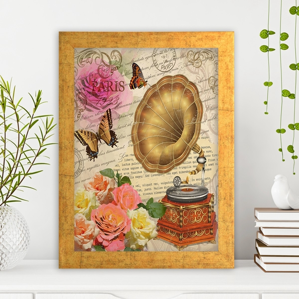 AC1261091059 Multicolor Decorative Framed MDF Painting