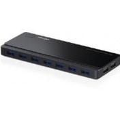 TP-LINK UH720 7-Port USB 3.0 Hub with 2 Charging Ports V1.0 Black UK Plug