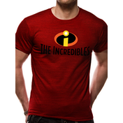 The Incredibles - Logo Men's Large T-Shirt - Red