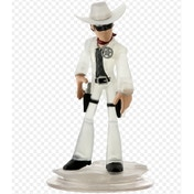 Disney Infinity 1.0 Crystal Lone Ranger Character Figure