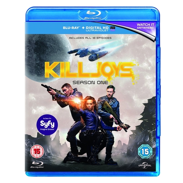 Killjoys season 1 [Blu-ray]