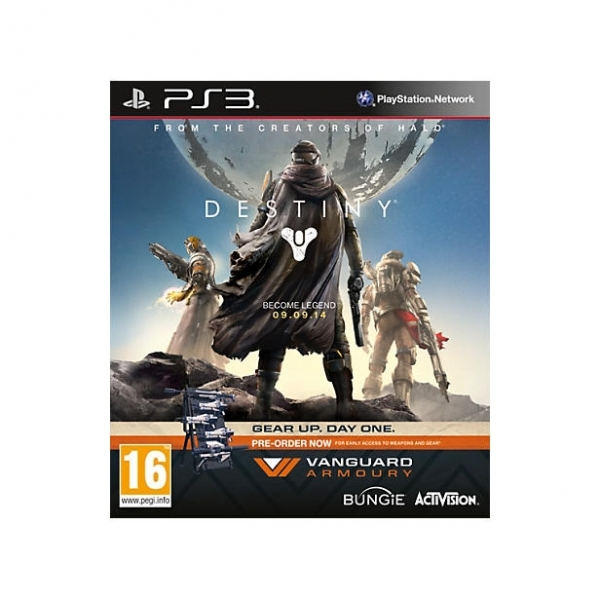 Destiny Vanguard Edition Game PS3