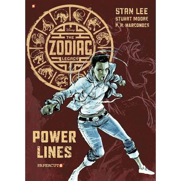 The Zodiac Legacy Graphic Novel Series #2: Power Lines Hardcover