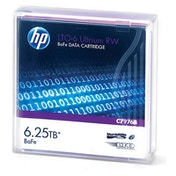 HP C7976B LTO6 BaFe RW Data Tape
