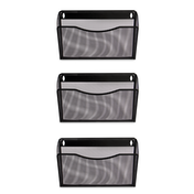 3 Piece Mesh Hanging Wall File Holders