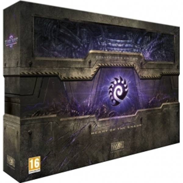 StarCraft II 2 Heart Of The Swarm Collector's Edition PC - Image 1
