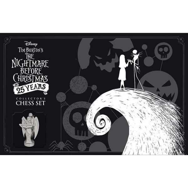 The Nightmare Before Christmas 25 Years Chess Set Board Game - Image 1