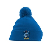 Harry Potter - Ravenclaw Crest Pom Beanie - Blue