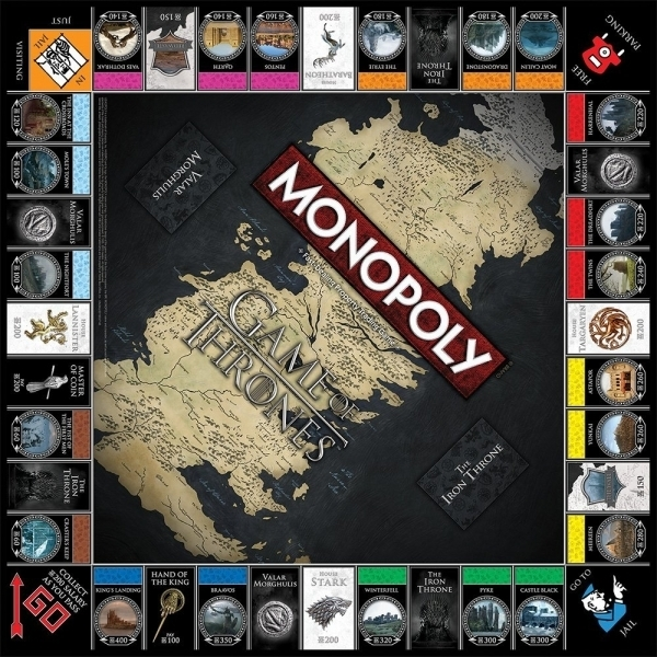 Ex-Display Game Of Thrones Monopoly Collector's Edition Used - Like New - Image 3
