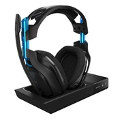 Astro Gaming A50 Wireless Dolby Gaming Headset Blue Black PS4 PC