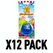 Tropical Splash (Pack Of 12) 3D Gel Candy Crush Air Freshener