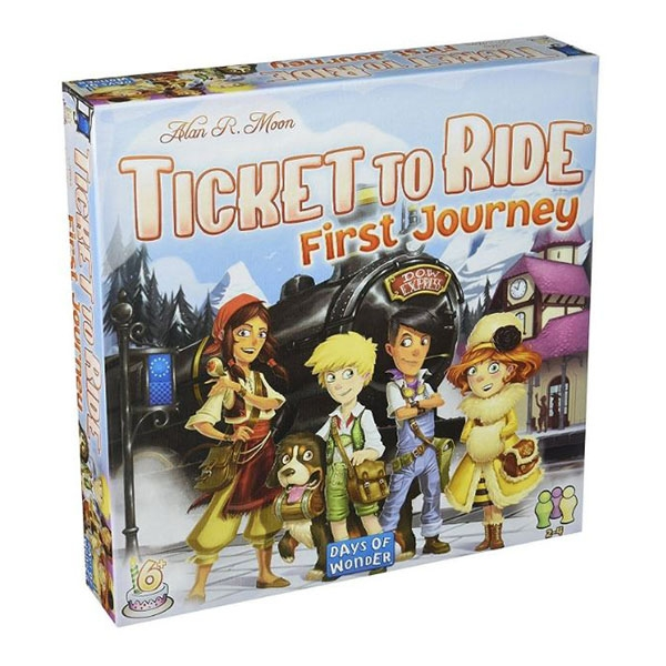 Ticket To Ride First Journey - Europe Edition Board Game
