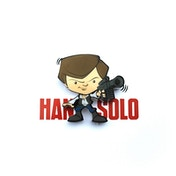 Hans Solo 3D Mini Wall Light