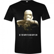 Star Wars VII Mens The Force Awakens StormTrooper - Rule The Galaxy Small T-Shirt