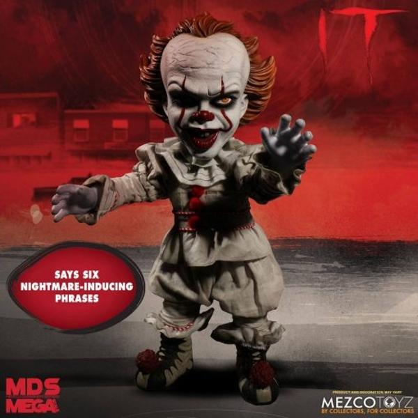 Pennywise (IT 2017) Mezco Talking Doll
