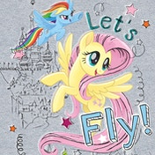 My Little Pony Movie - Let's Fly Canvas
