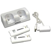 White Wii Duracell Charger