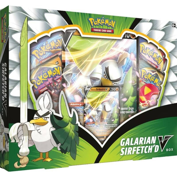 Pokemon TCG: Galarian Sirfetch'd V Box