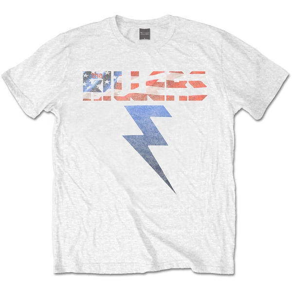 The Killers - Bolt Unisex Medium T-Shirt - White