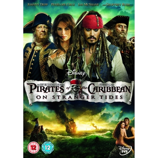 Pirates of the Caribbean On Stranger Tides DVD